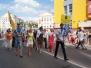 Праздничное шествие, посвященное 75-летию города Воскресенска